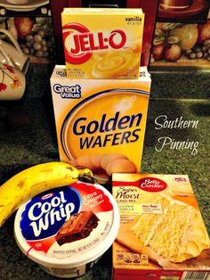 Quick & Easy  Dessert Recipe Favorites -  Banana Poke Cake & Peanut Butter Fudge