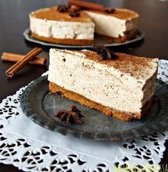 Xmas Desserts, Sweet Desserts, Vegan Desserts, Sweet Recipes, Yummy Recipes, Sweet Bakery, Sweet Pastries, Piece Of Cakes, Sweet And Salty