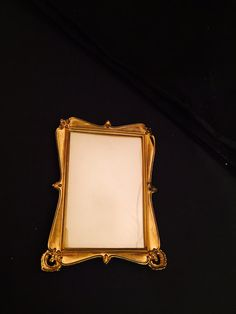 Brass Photo Picture Cabinet Card Frame Art Nouveau by missenpieces