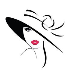 Find Logo Woman Long Hair stock images in HD and millions of other royalty-free stock photos, illustrations and vectors in the Shutterstock collection. Art Scratchboard, Tableau Pop Art, Hat Vector, Silhouette Art, Diy Canvas Art, Beauty Art, Doodle Art, Easy Drawings, Hats For Women