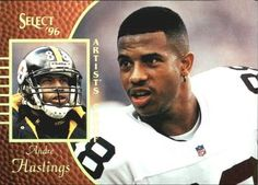 1996 Select - Artist's Proofs #93 Andre Hastings Front