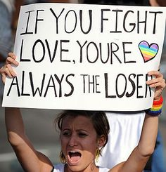Well, I fight love because it always fucks me over, but others might have better luck than I do. Spread the love!
