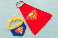How to DIY a Superman Dog Costume for Halloween via Brit + Co