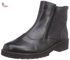Ganter  ELLEN-STIEFEL, Weite G, Bottes Classics courtes, doublure chaude femme - Noir - Noir (0100), 42 - Chaussures ganter (*Partner-Link)