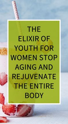 The Elixir Of Youth For Women! Stop Aging And Rejuvenate The Entire Body! Herbal Remedies, Health Remedies, Home Remedies, Health And Wellness, Health Tips, Health Care, Natural Cures, Natural Health, Oils For Sinus