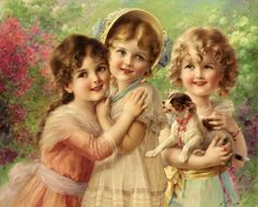 Emile Vernon (french painter) _Best Of Friends