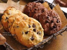 型抜き要らずの簡単クッキー 森永のチョコチップクッキーが食べたくて作りました(笑)ドロップチョコチップクッキー❁レシピ◆材料 ( 約10枚分 )無塩バター      60g 三温糖        34g 塩          ひとつまみ Yummy Cookies, Sugar Cookies, Cookie Recipes, Dessert Recipes, Desserts, Biscuits, Japanese Bread, American Cookie, Cute Food