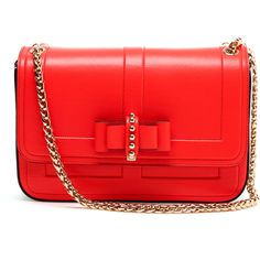 CHRISTIAN LOUBOUTIN 'Sweet Charity' Leather Handbag ($1,585) ❤ liked on Polyvore
