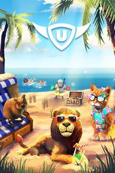 Es gibt Sommerkalender mit gratis Geschenken in My Free Zoo, My Little Farmies und (ab Donnerstag) in Uptasia sowie zahlreiche Sommerevents, z.B. ab morgen (2.7.) in Zoo 2: Animal Park! Zoo 2, Farm Games, Apps, Gaming, Adventure, Play, Fun, Movies, Movie Posters