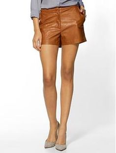 Tinley Road Vegan Leather Short | @Pack It Up