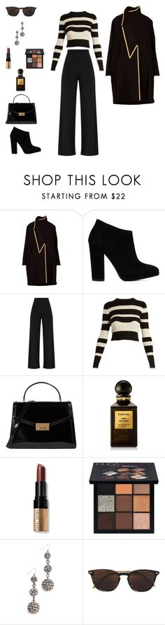"""#06.12.17 in home 🏡 with Mark 🎙📟 London 🇬🇧"" by thedustyroses ❤ liked on Polyvore featuring Giuseppe Zanotti, Proenza Schouler, Tory Burch, Tom Ford, Bobbi Brown Cosmetics, Huda Beauty, Lulu Frost and Oliver Peoples"