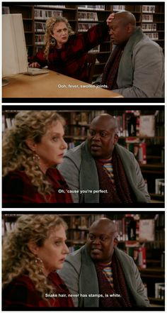 The Unbreakable Kimmy Schmidt, Titus Andromedon Tv Quotes, Movie Quotes, I Love To Laugh, Make Me Smile, Schmidt Quotes, Snake Hair, Unbreakable Kimmy Schmidt, Are You Not Entertained, Movie Lines