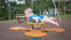 """The cutest """"planking"""" pic I've ever seen. Or Tummy Time! Funny Babies, Cute Babies, Cool Playgrounds, Cutest Babies Ever, Baby Shots, Pure Fun, Baby Center, Tummy Time, Baby Pictures"""