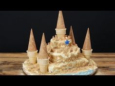 Your Kids Will Rejoice When You Make This Sand Castle Cake For Them