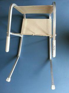 Vintage Sassy Seat Clip On  Booster Feeding Seat Aluminum Frame #Sassy
