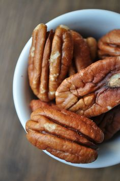 Pecans are a classic Texas food - and are eaten plain, spiced & glazed, or in our famous pecan pie!  #AmericaBound  @Sheila Collette Farm