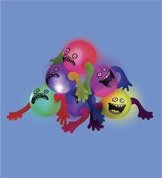 Light-Up Funny Face Balls noah