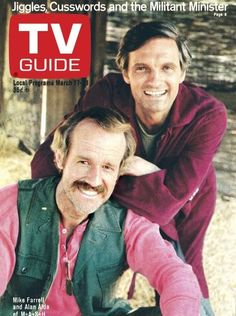 On the classic series' anniversary, check out all the memorable times it made the cover of 'TV Guide. Mash 4077, Great Tv Shows, Old Tv Shows, Alan Alda, History Of Television, Best Mysteries, Comedy Tv, Tv Episodes, Tv Guide