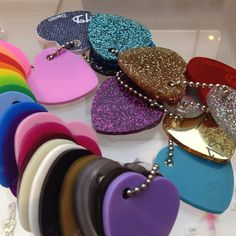 Tatty Devine's name necklaces are available in many colors of Perspex® (known as Lucite Lux® in North America).