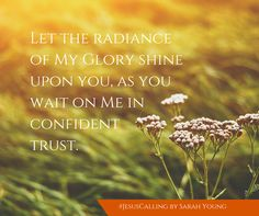 Share the ministry of Jesus Calling. Become an Ambassador, send a personalized message, or share inspirational images with friends and followers.