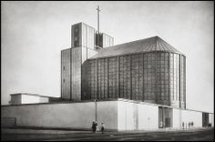 Otto Bartning @ Pressa Church Köln [1928]