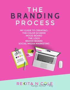 My Branding Process: Creating the Brand and the Logo  http://www.rekitanicole.com/blog/2015/7/the-branding-process-guide  My Process and guide to creating a logo and styling a brand.