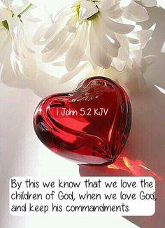 1 John 5:2 KJV