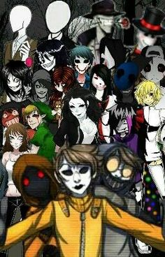 You're found by a bunch of creepypastas in Slenderman's forest. They took you to the Slender Mansion where you're gonna...
