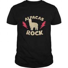 Cool Alpacas Rock Shirts & Tees #tee #tshirt #named tshirt #hobbie tshirts # Alpacas