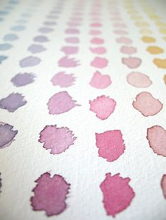 watercolour - beautiful swatches