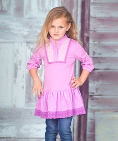 Look what I found on #zulily! Violet Tessa Tunic - Infant, Toddler & Girls by Jelly the Pug #zulilyfinds