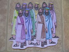 Creating Homemade Happiness While Raising Homegrown Girls: Lesson 31: Jesus Heals Ten Lepers
