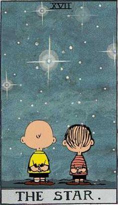 Peanuts Tarot: The Star