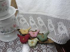 Toca do tricot e crochet: Barrado de crochet filet V !!!
