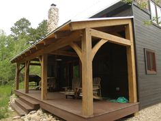 The Tools Needed When Laying Decking Covered Walkway, Porch Roof, Pergola Roof, Porch Addition, Timber Structure, Deck Builders, Decks And Porches, Front Porches, Diy Deck
