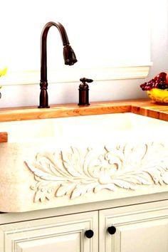 "#farmhouse #stunning #improve #kitchen #kohler #ideas #sink #your #to #06Stunning Kohler Farmhouse Sink Ideas To Improve Your Kitchen 06 Stunning Kohler Farmhouse Sink Ideas To Improve Your Kitchen 06 kitchenStunning Kohler Farmhouse Sink Ideas To Improve Your Kitchen 06 kitchen  33"" Ivy Polished Marble Double-Bowl Farmhouse Sink - Cream Egyptian  Signature Hardware 318918 32-3/4"" Vine Design Farmhouse Single Basin Copper Kitc Antique Copper Fixture Kitchen Sink Copper  How to style a boo... Kitchen Fixtures, Kitchen Sink, Vine Design, Antique Copper, Basin, Egyptian, Ivy, Improve Yourself"