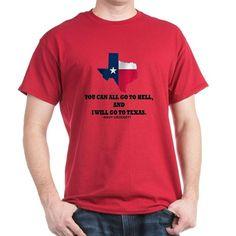 DAVY CROCKETT T-Shirt on CafePress.com