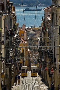Ruazinha em Lisboa #RioTejo