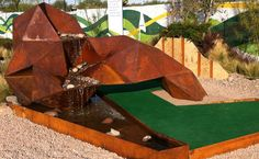 sustainable miniature golf course design