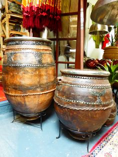 Pots from Morocco; 100kg