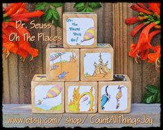 Dr Seuss Oh The Places You'll Go Storybook by CountAllThingsJoy