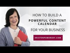 I'm adamant that you must make it a priority to build a powerful content calendar for your business. In this video, I share a few compelling reasons why and . I Can Tell, Told You So, Save Yourself, Improve Yourself, What To Write About, I Will Show You, Do It Right, Growing Your Business, Priorities