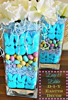 DIY Easter Centerpiece - 29 Creative DIY Easter Decoration Ideas