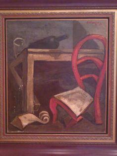 elajandro obregon  la silla roja