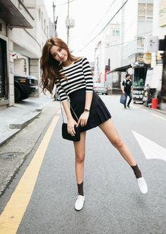 Simple and sexy korean fashion kpop fashion, ulzzang fashion, korean fashion trends, Korean Fashion Summer Casual, Korean Fashion Ulzzang, Korean Fashion Dress, Korean Fashion Casual, Korean Street Fashion, Korea Fashion, Kpop Fashion, Korean Outfits, Asian Fashion