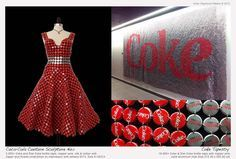 Raymond Waters Has Designed a Coke Tapestry and Bottle Cap Dress #JunkFood #Fashion
