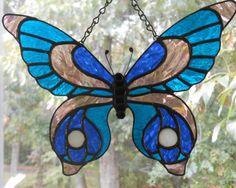 Stained Glass Butterfly - Handcrafted in the USA