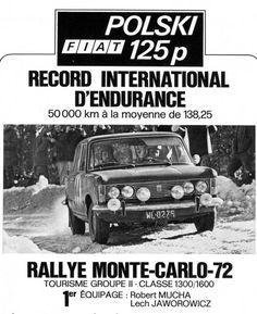 Fiat 125p Monte Carlo 1972