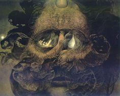 Untitled - Zdislav Beksinski, Image via www.wikiart.org