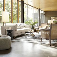 Frame Medium Coffee Table in Coffee Tables & Side Tables | Crate and Barrel